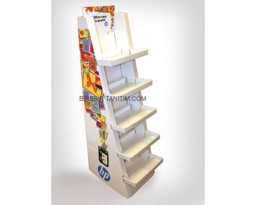 Karton Stand Raflı - 32