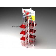 Metal Stand Orta Alan - Havuz - 01