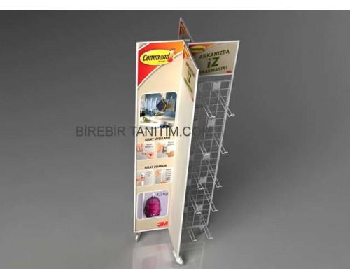 Metal Stand Orta Alan - Havuz - 05