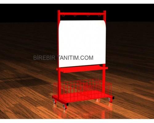Metal Stand Orta Alan - Havuz - 17