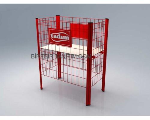 Metal Stand Tel Sepet - 07